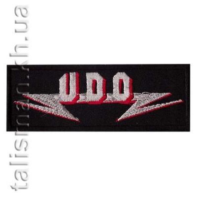 нашивка с вышивкой U.D.O.