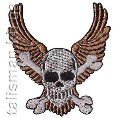 нашивка с вышивкой HARLEY DAVIDSON 3 Skull Wings
