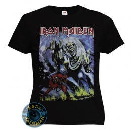 футболка женская IRON MAIDEN The Number Of The Beast