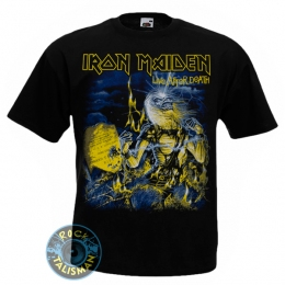 футболка IRON MAIDEN Live After Death