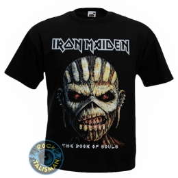 футболка IRON MAIDEN The Book Of Souls