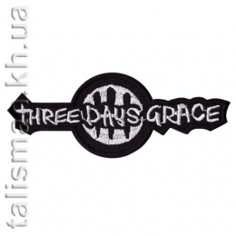 нашивка с вышивкой THREE DAYS GRACE