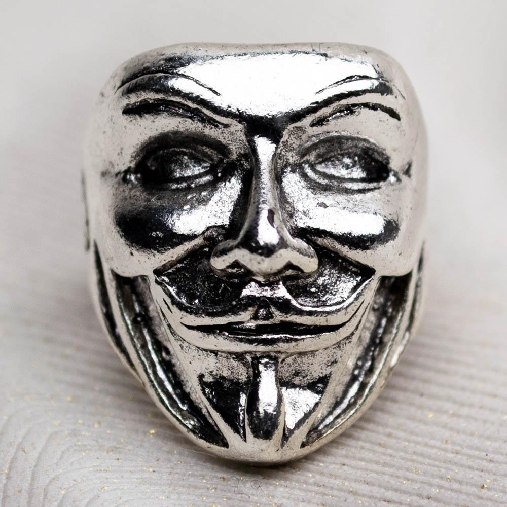 Перстень Маска Гая Фокса PEB-32 0