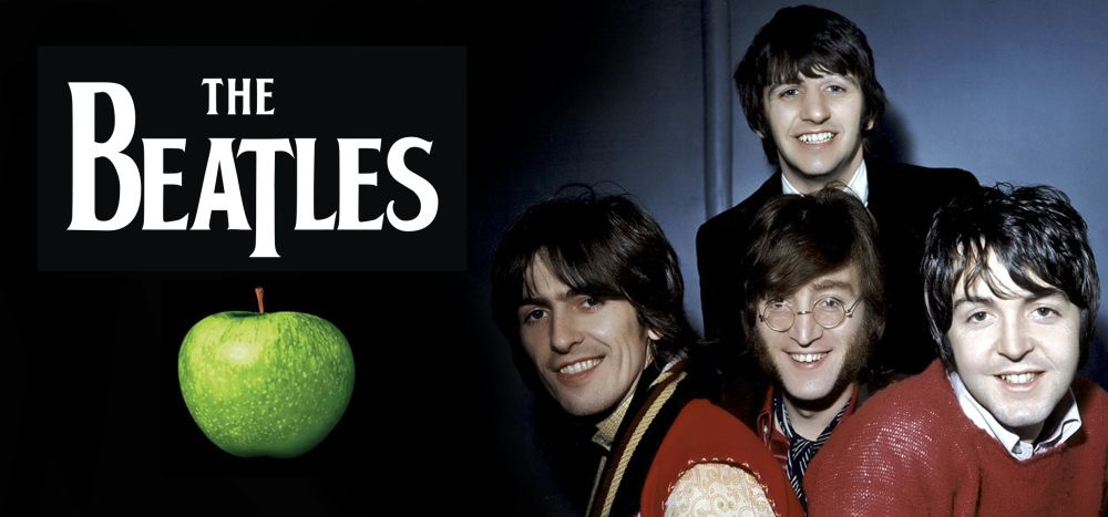 Чашка THE BEATLES Apple 0