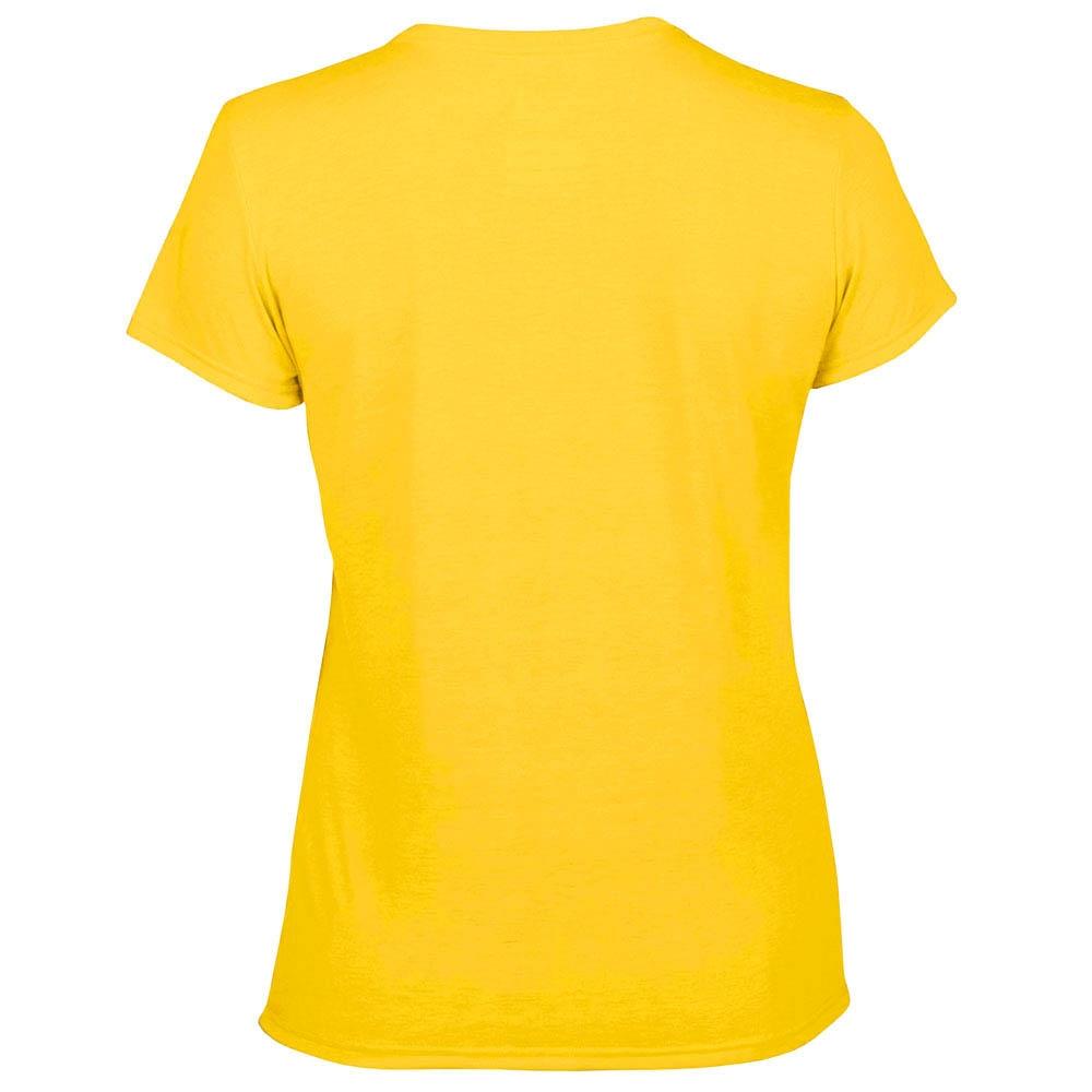 футболка женская Fruit Of The Loom желтый 0
