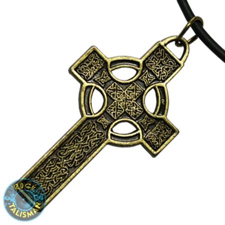 кулон K-149 - Кельтский Крест (бронза) 0