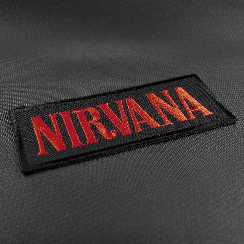 нашивка с вышивкой NIRVANA 1 лого 0