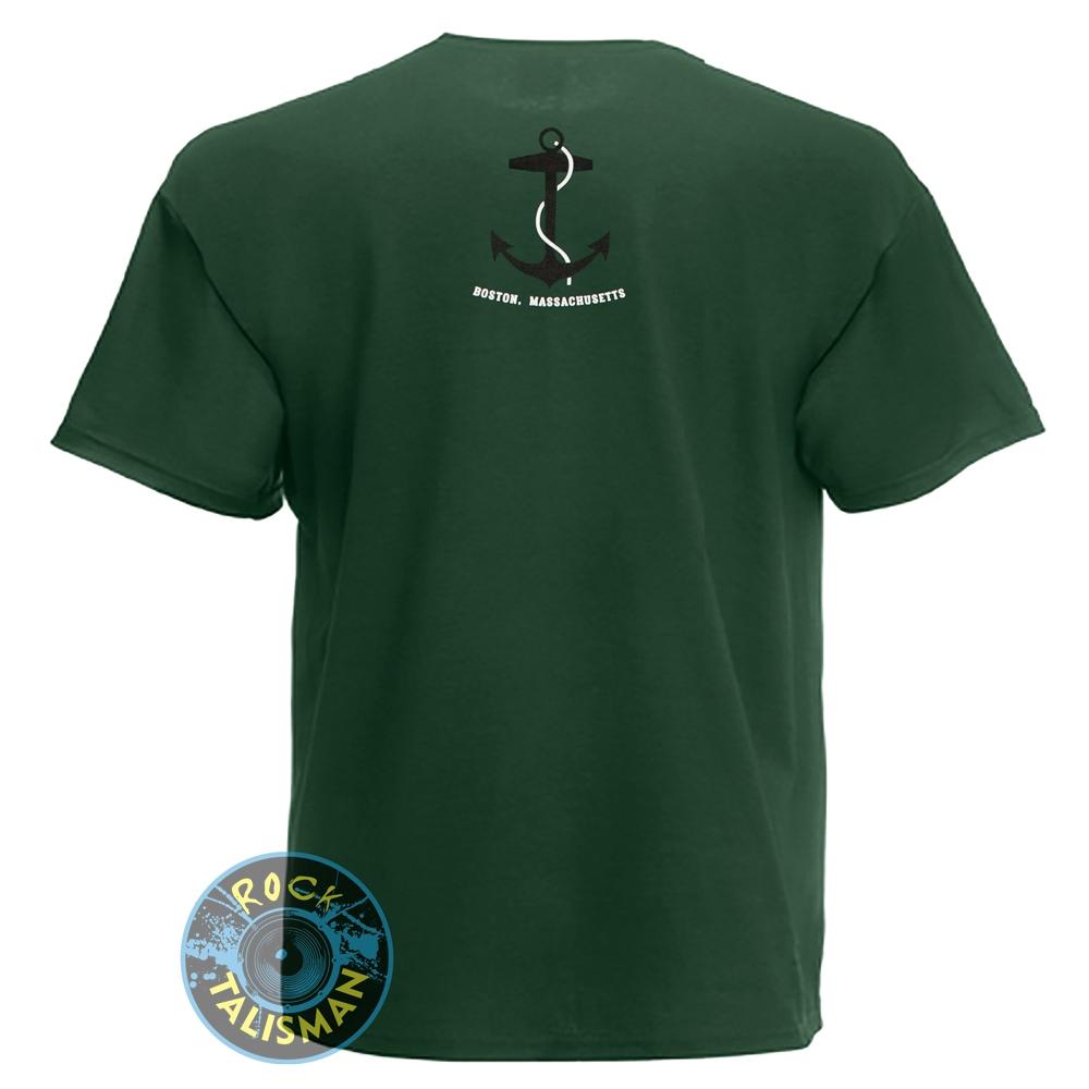 футболка DROPKICK MURPHYS (якорь) темно-зеленая 0