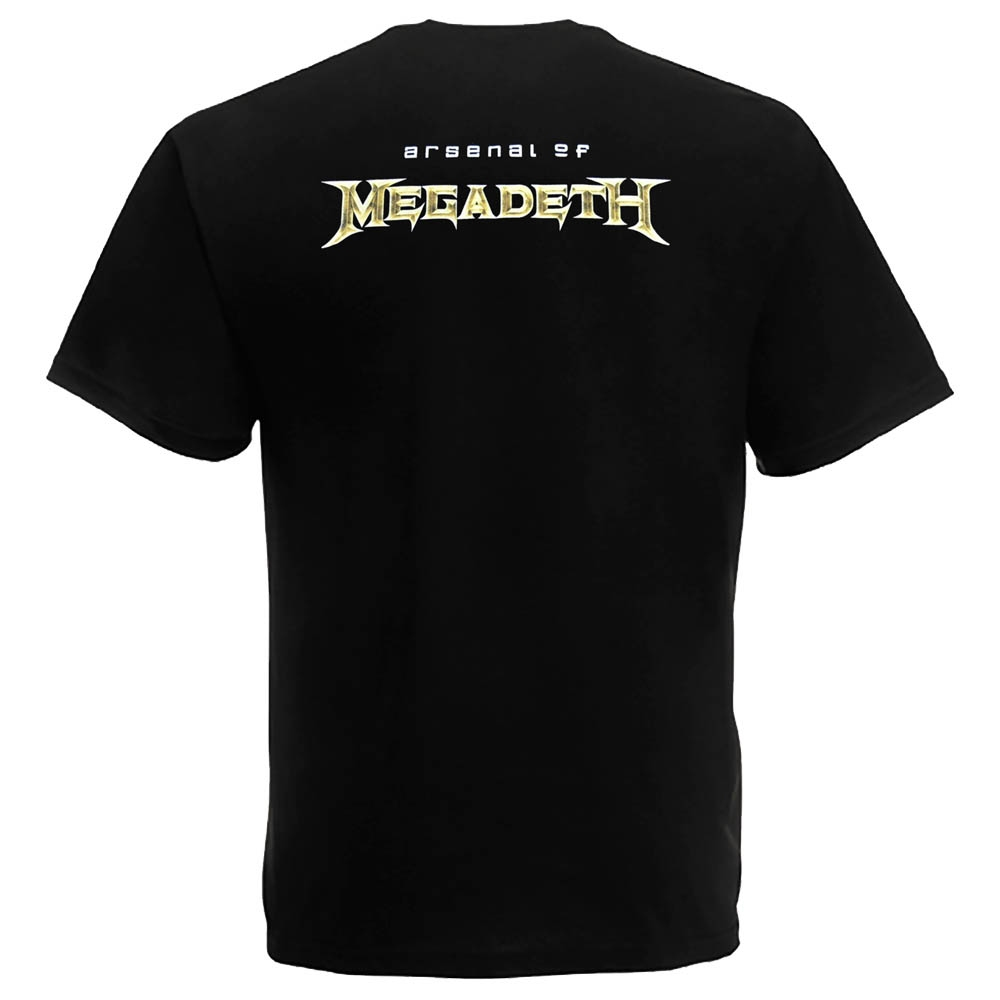 футболка MEGADETH Arsenal of Megadeth 0