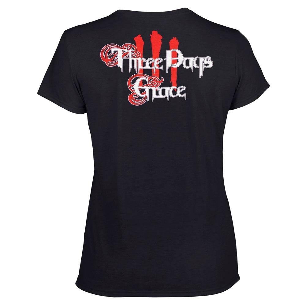 футболка женская THREE DAYS GRACE 0