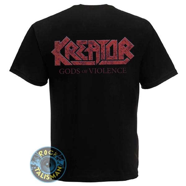 футболка KREATOR  Gods Of Violence  0