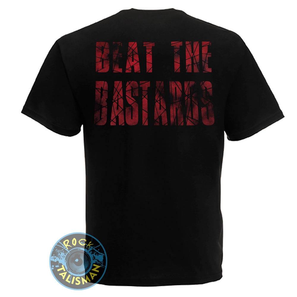 футболка EXPLOITED Beat The Bastards Skull 0
