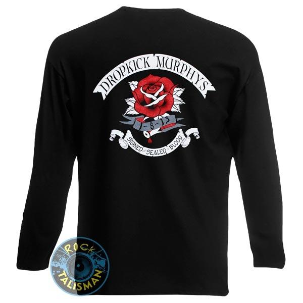 футболка длинный рукав DROPKICK MURPHYS Signed And Sealed In Blood 0