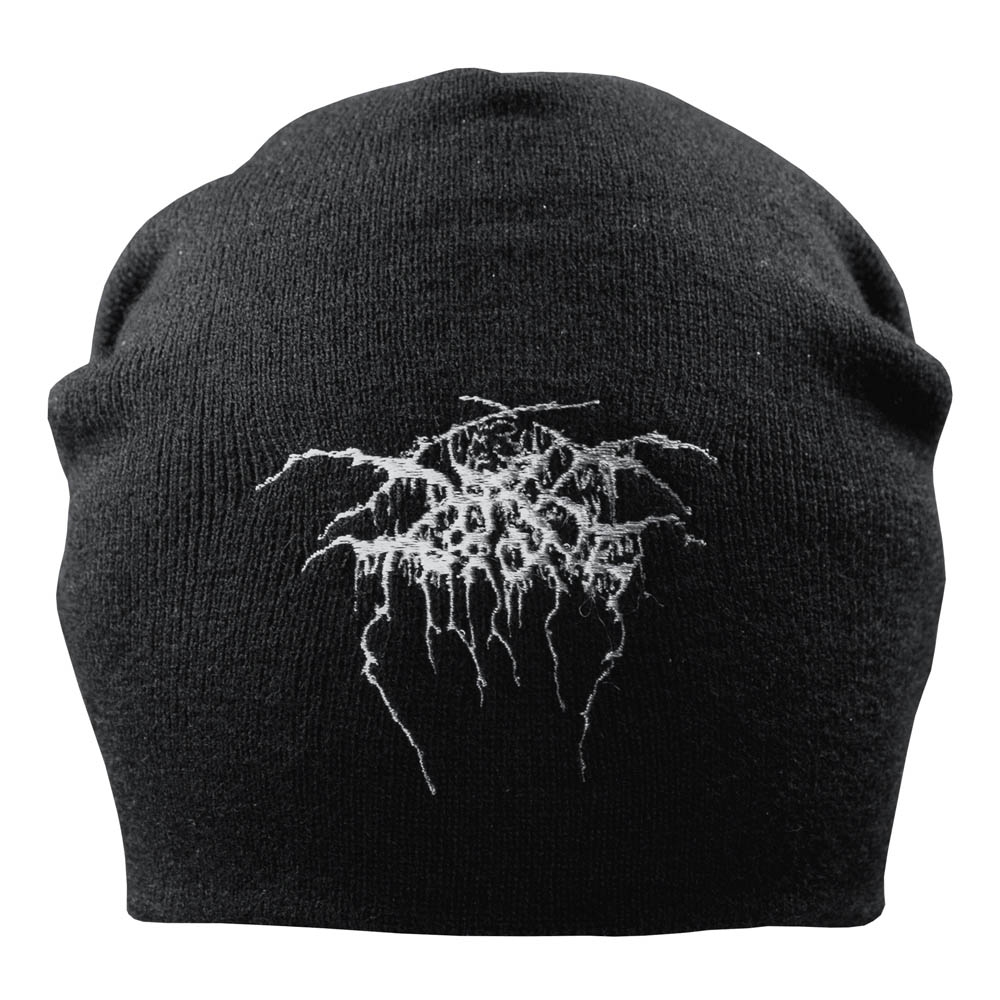 шапка бини с вышивкой DARKTHRONE 0