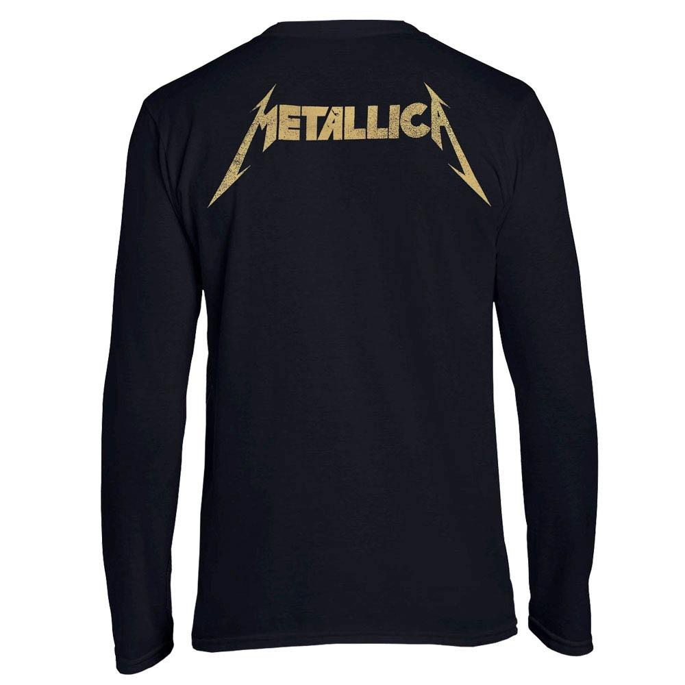 футболка длинный рукав METALLICA Papa Het guitar 0