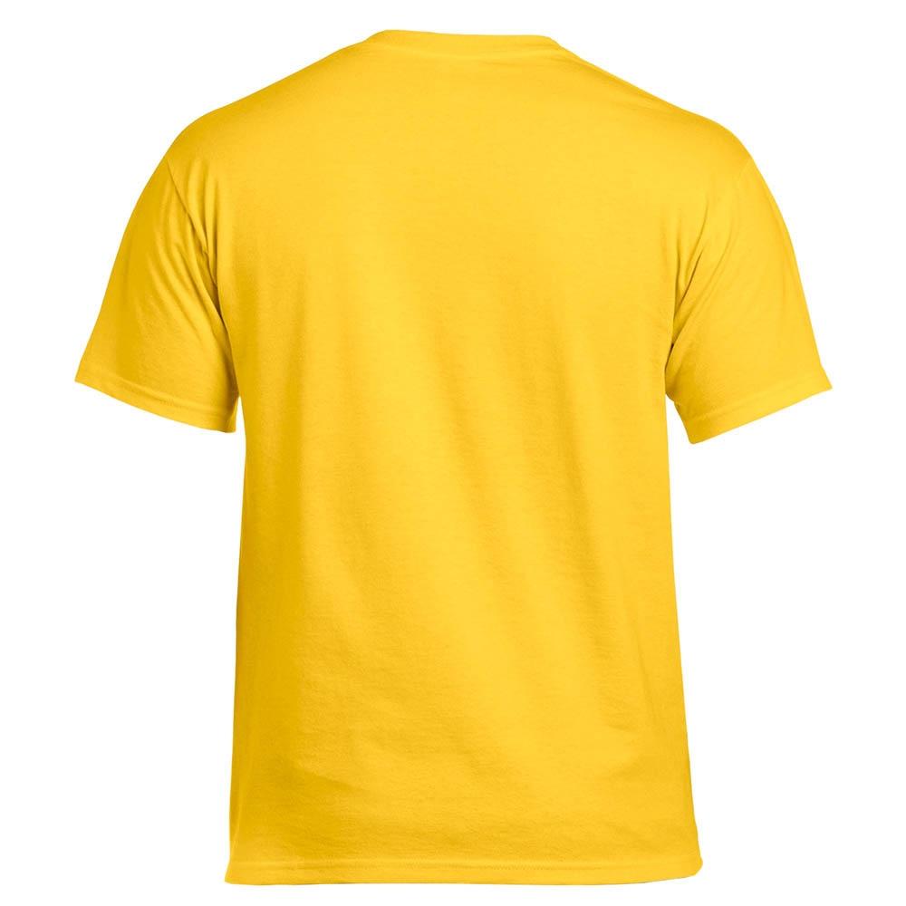 Футболка Gildan желтая 0