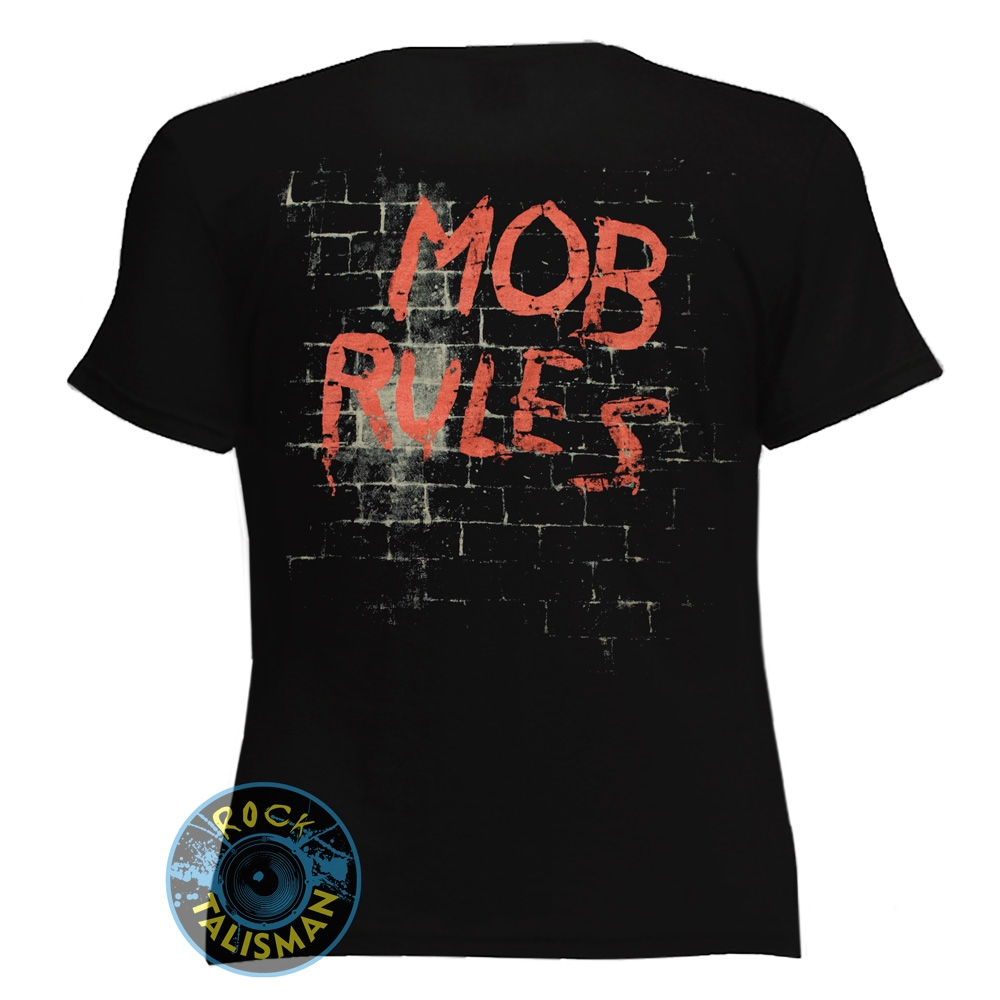 футболка женская BLACK SABBATH Mob Rules 0