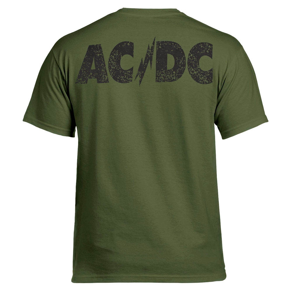футболка AC/DC Jailbreak оливковая 0