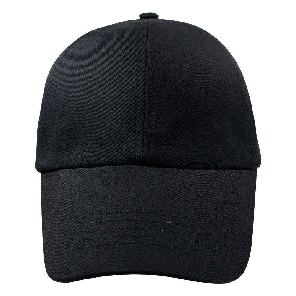 бейсболка ЧИСТАЯ черная 0
