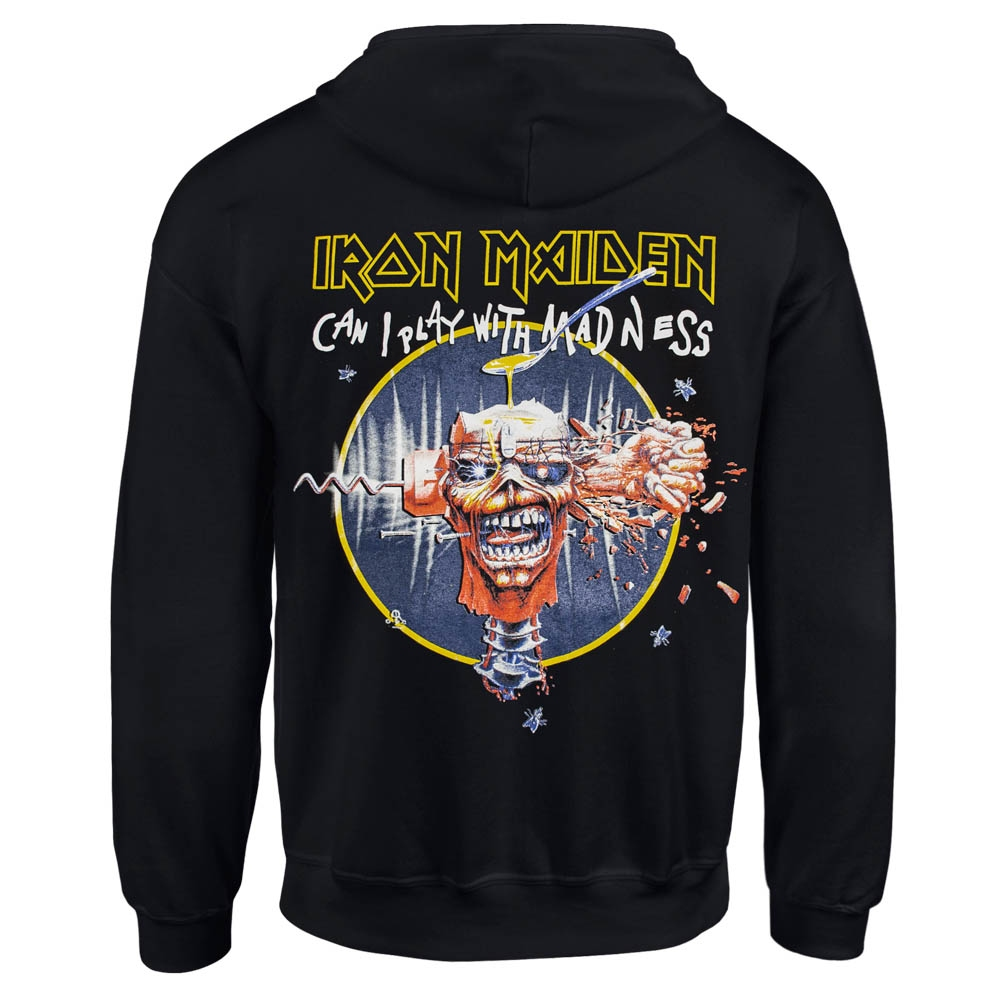 толстовка на змейке IRON MAIDEN Can I Play With Madness 0