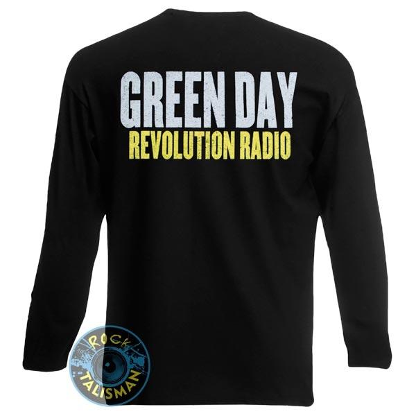 футболка длинный рукав GREEN DAY Revolution Radio  0