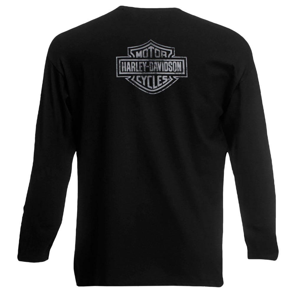 футболка длинный рукав HARLEY DAVIDSON мотоцикл 0
