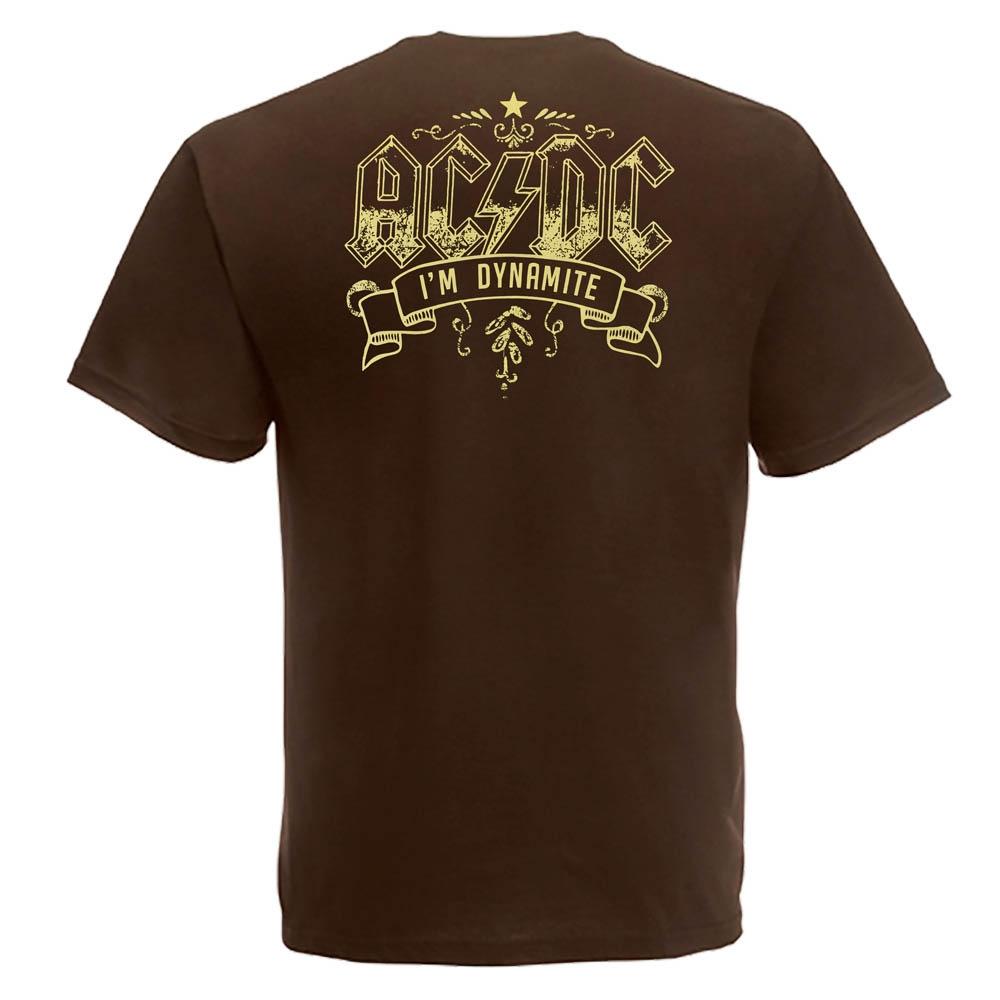футболка AC/DC TNT  коричневая 0
