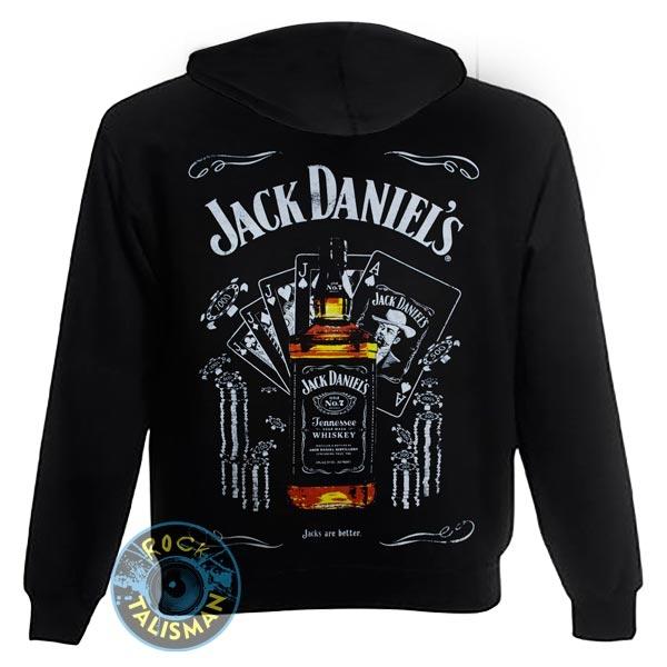 толстовка на змейке JACK DANIELS Jacks Are Better  0