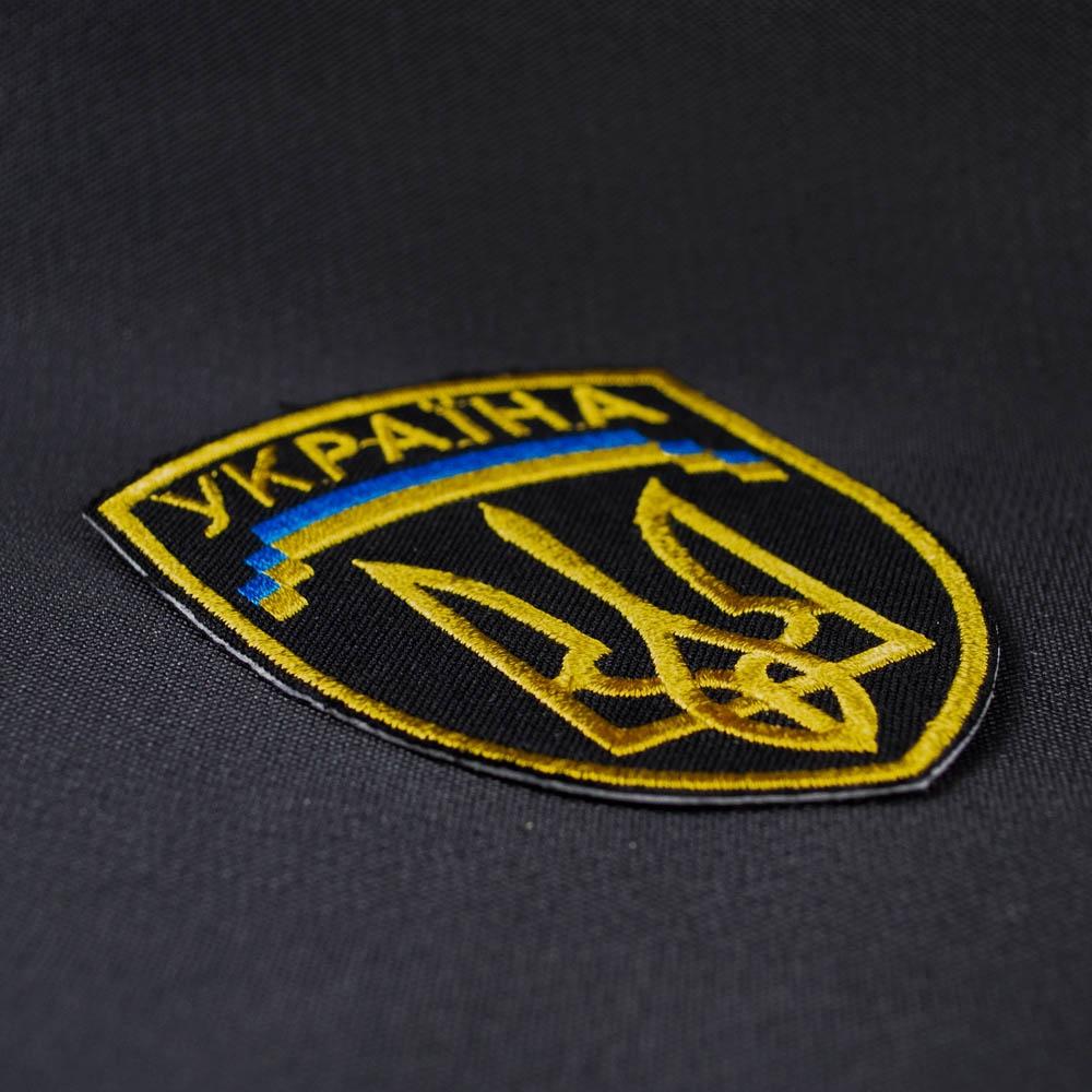 нашивка с вышивкой ТРИЗУБ 3 Україна 0
