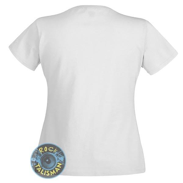 футболка женская EXPLOITED (лого) белая 0