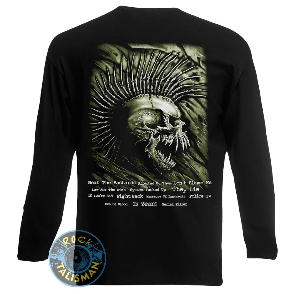 футболка длинный рукав EXPLOITED Beat The Bastards  0