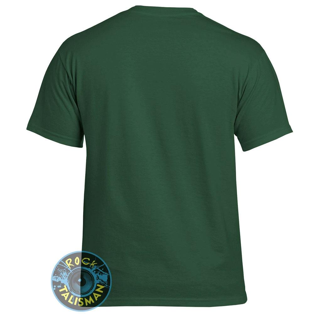 футболка Fruit Of The Loom темно-зеленая 0