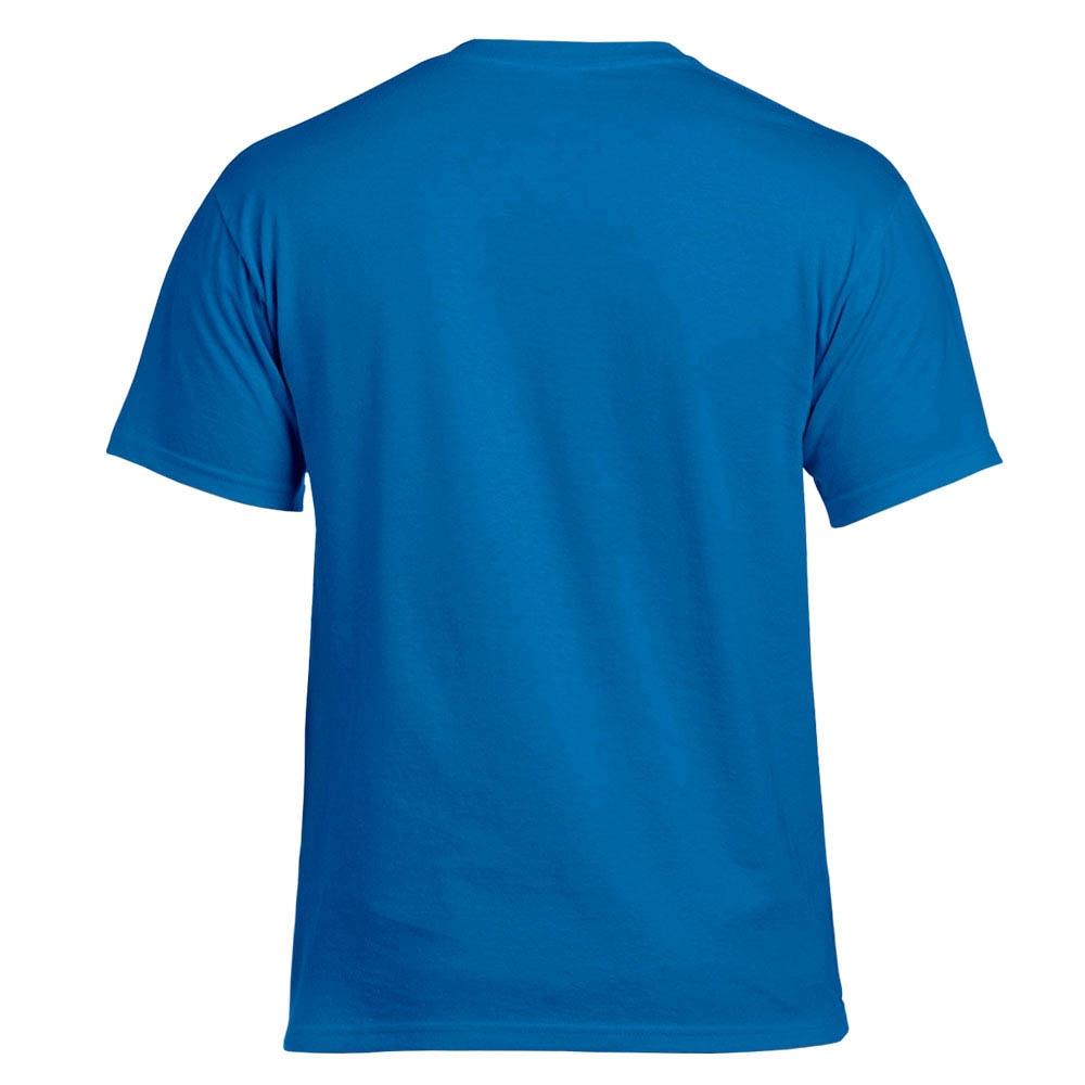 футболка Gildan ярко-синяя 0