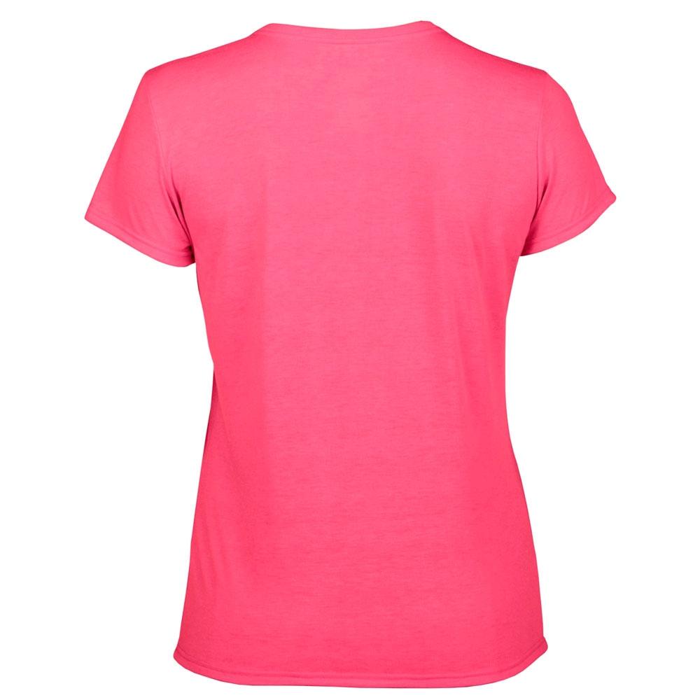 футболка женская Fruit Of The Loom малиновая 0