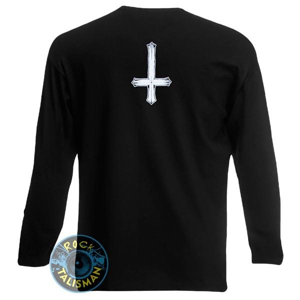 футболка длинный рукав BEHEMOTH герб 0