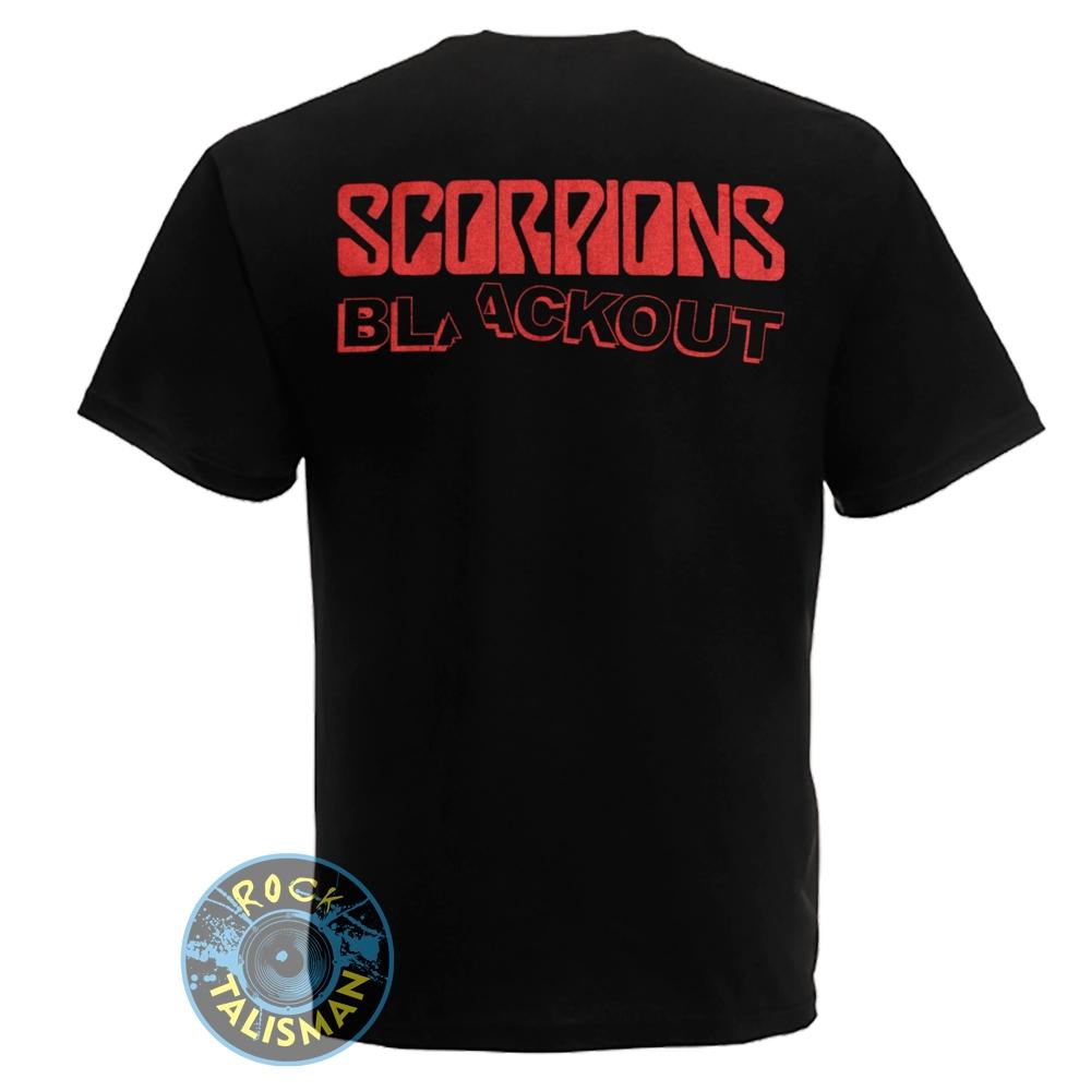 футболка SCORPIONS Blackout 0