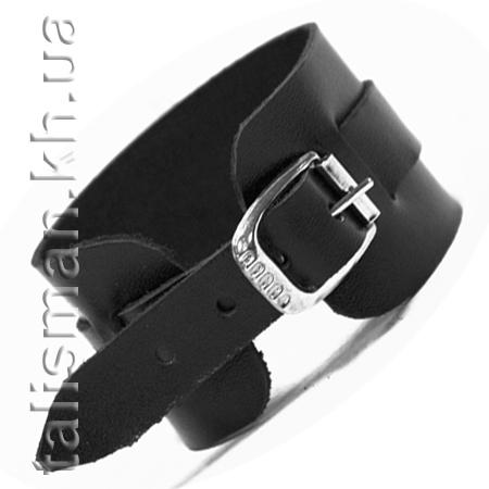 браслет кожаный BKB-021 ремешок с черепом 0