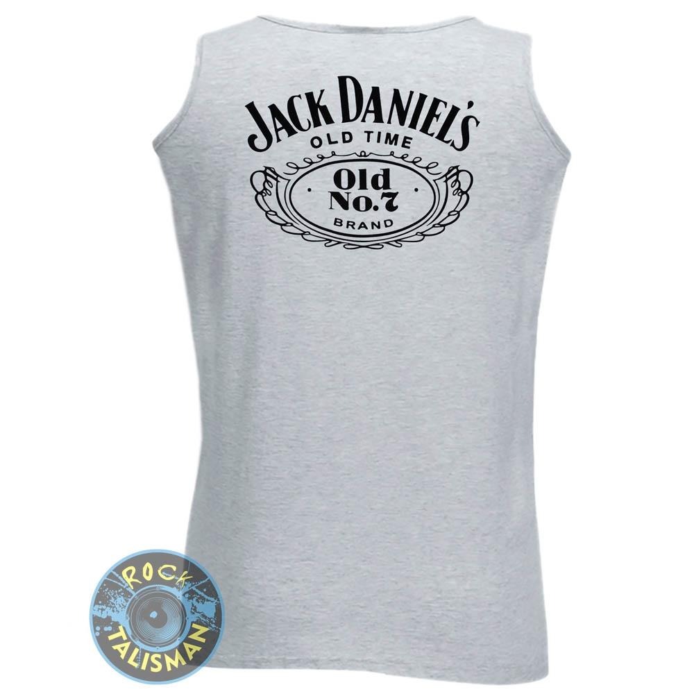 Майка JACK DANIELS Logo меланжевая 0