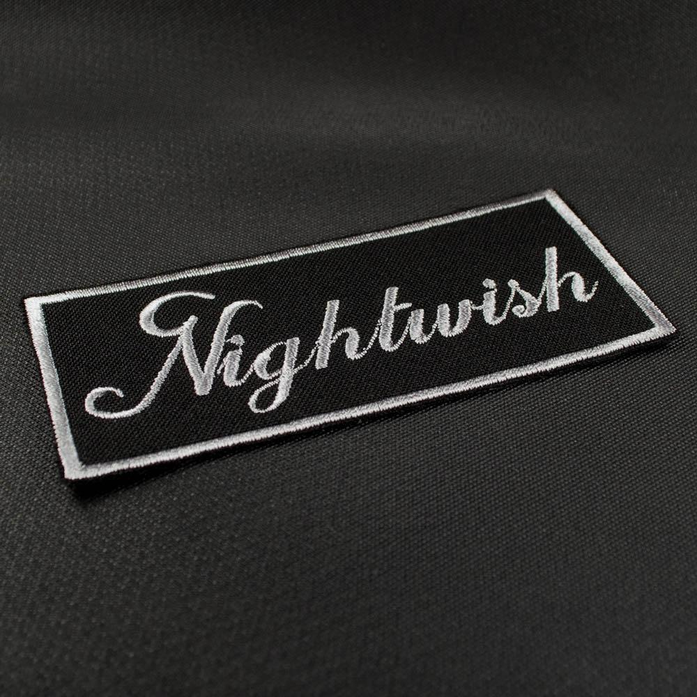 нашивка с вышивкой NIGHTWISH 1 Logo 0