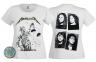 футболка женская METALLICA And Justice For All белая  1