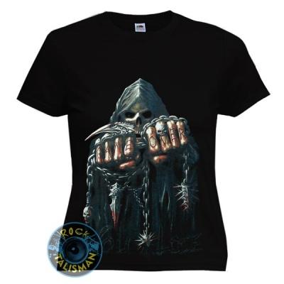 футболка женская СМЕРТЬ GAME OVER