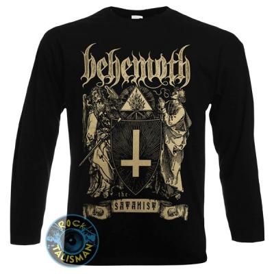 футболка длинный рукав BEHEMOTH The Satanist