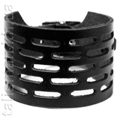 браслет кожаный BKB-003 с перфорацией