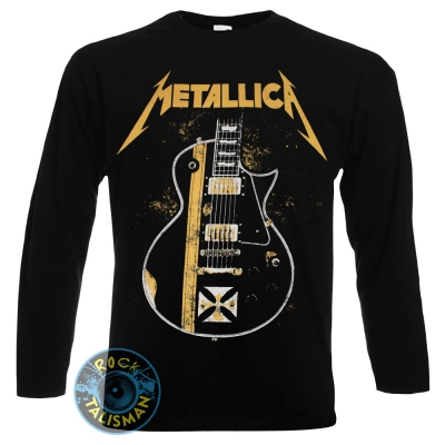 футболка длинный рукав METALLICA Hetfield Guitar