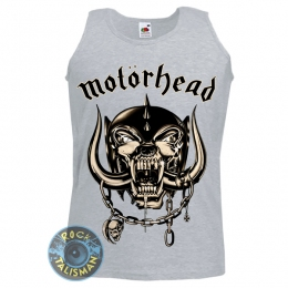 майка MOTORHEAD Everything Louder меланжевая